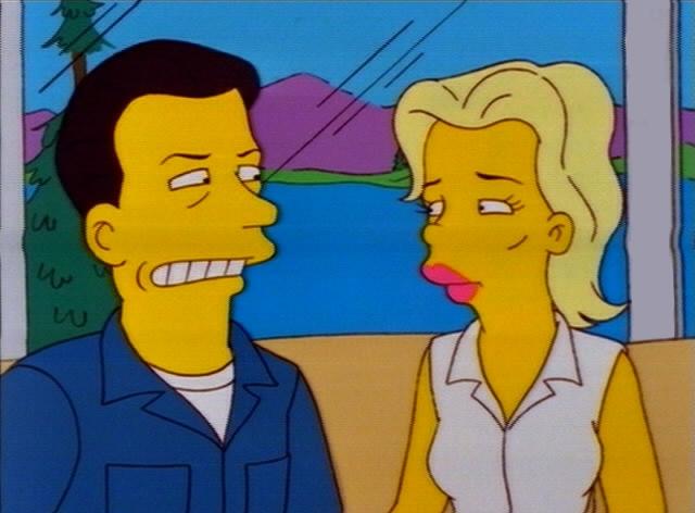 Kim Basinger and Alec Baldwin on The Simpsons Alec Baldwin