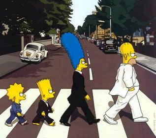 The Beatles on The Simpsons (JPG)