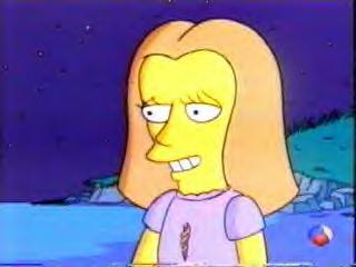 Christina Ricci on The Simpsons (JPG)