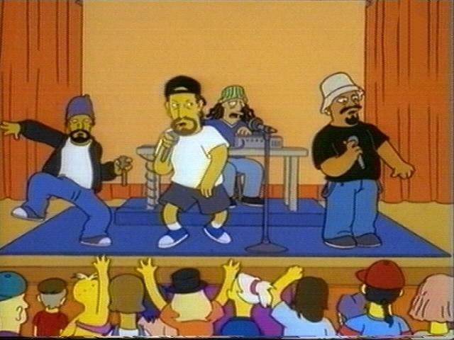 Cypress Hill on The Simpsons (JPG)
