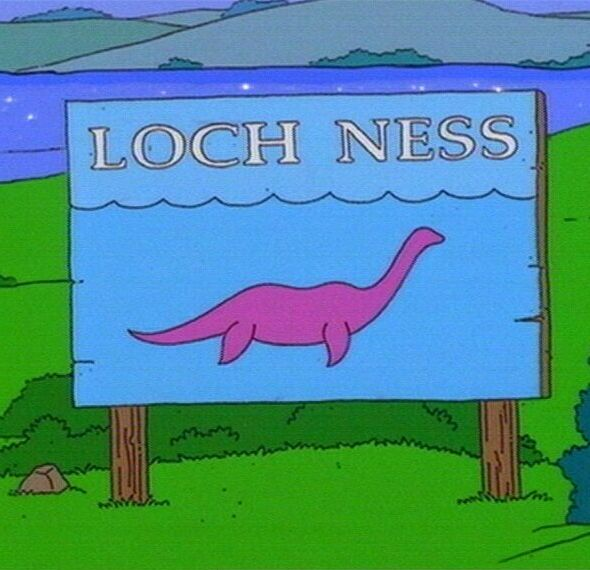 Loch Ness Monster on The Simpsons (JPG)