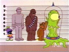 Alien lineup (The Simpsons) (JPG)