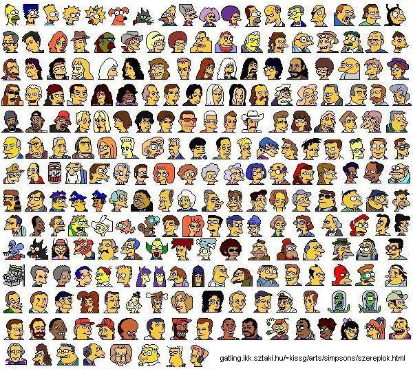 Simpsons icons (JPG)