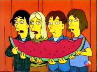 Sonic Youth on The Simpsons (JPG)