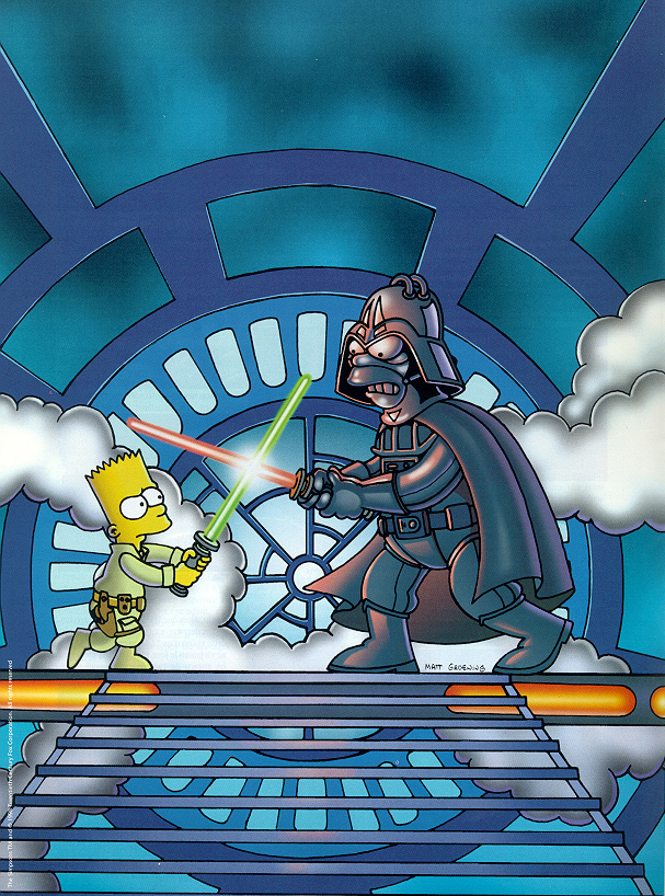 Right! star wars simpsons